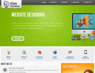 igex.igexsolutions.com screenshot