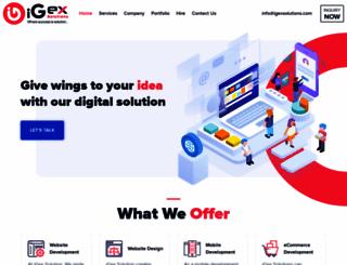 igexsolutions.com screenshot