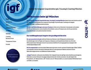 igfc.eu screenshot
