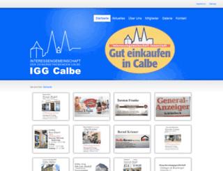 igg-calbe.de screenshot