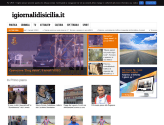 igiornalidisicilia.it screenshot