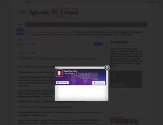 iglesianicristoreadme.blogspot.com screenshot