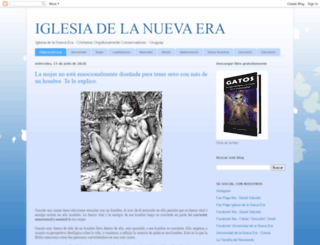 iglesianuevaera.blogspot.com.ar screenshot