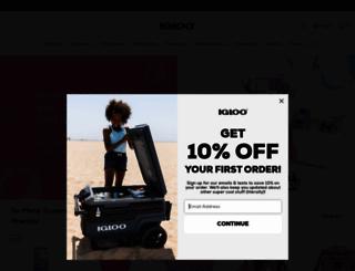 igloocoolers.com screenshot