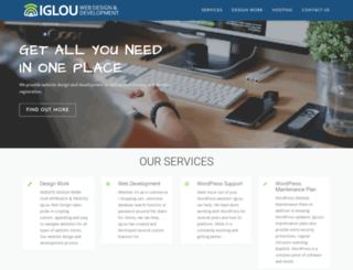 iglouwebdesign.com screenshot