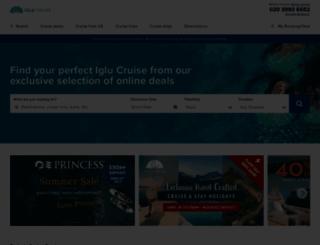 iglucruise.com screenshot