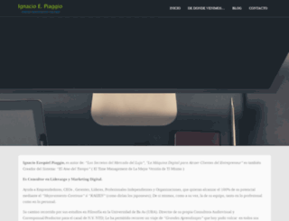 ignaciopiaggio.com screenshot