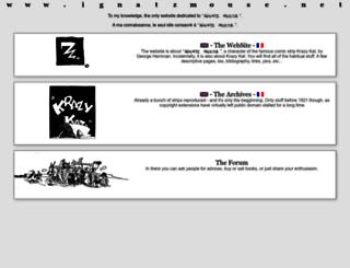 ignatzmouse.net screenshot