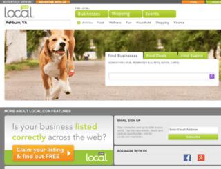 ignia.local.com screenshot