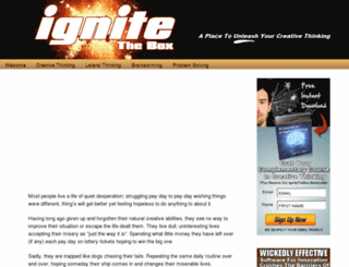 ignitethebox.com screenshot