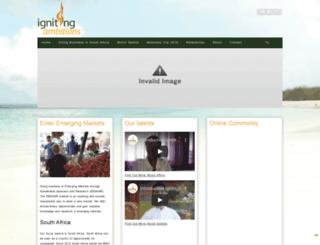 ignitingambitions.com screenshot