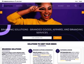 ignitionmarketing.co.za screenshot