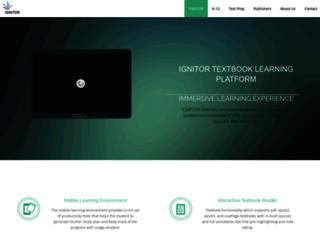 ignitorlearning.com screenshot