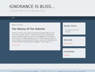 ignoranthistorian.com screenshot