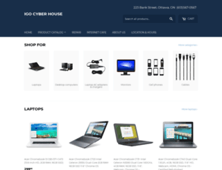 igocyberhouse.com screenshot