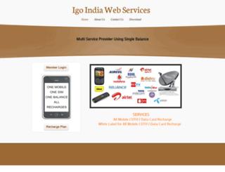 igoindia.webs.com screenshot