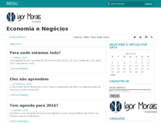 igoracmorais.com.br screenshot