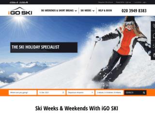 igoski.co.uk screenshot