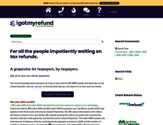 igotmyrefund.com screenshot