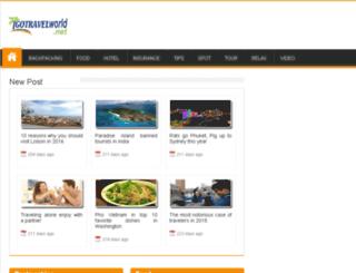 igotravelworld.net screenshot