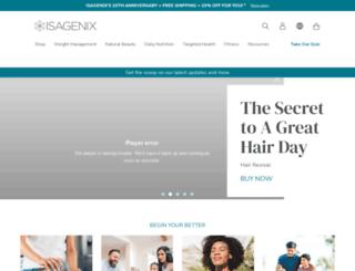igotto.isagenix.com screenshot
