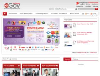 igov.gov.sg screenshot