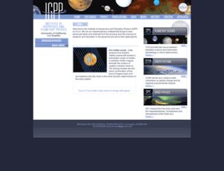 igpp.ucla.edu screenshot