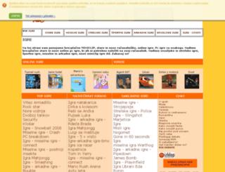 igre.akc.si screenshot