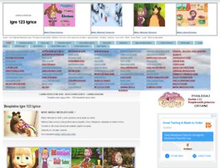 igre123igrice.com screenshot