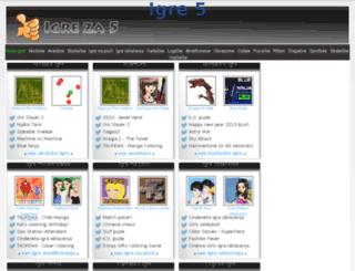 igre5.igre.hr screenshot