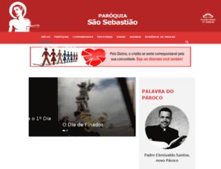 igrejasaosebastiao.org.br screenshot