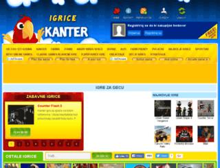 igrice-kanter.com screenshot