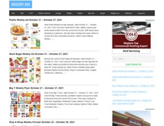 igroceryads.com screenshot