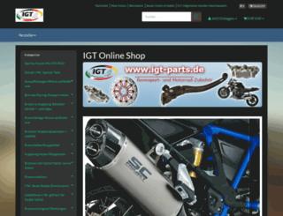 igt-parts.de screenshot