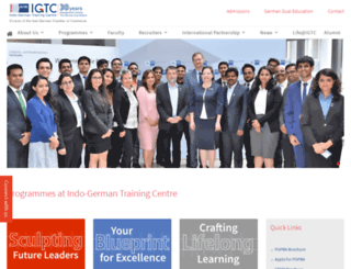igtcindia.com screenshot