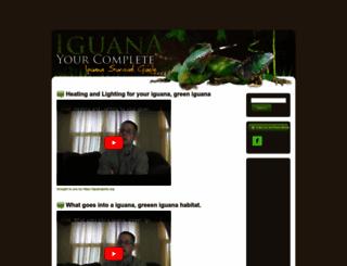 iguanapets.org screenshot