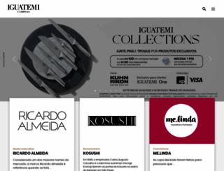 iguatemicampinas.com.br screenshot