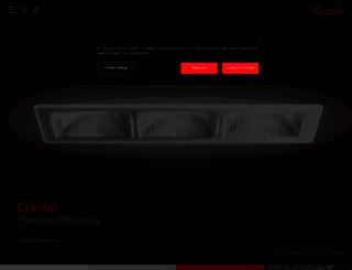 iguzzini.com screenshot