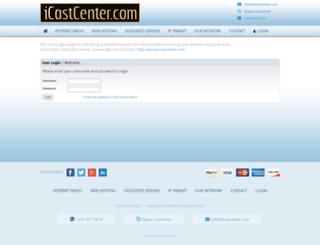 ih.icastcenter.com screenshot
