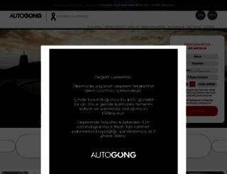 ihale.autogong.com screenshot