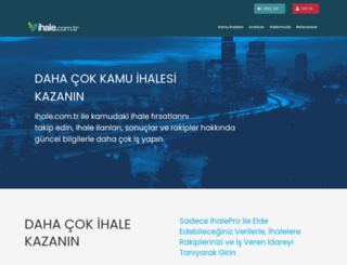 ihale.com.tr screenshot