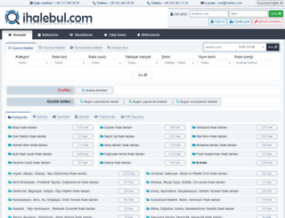 ihalebul.com screenshot