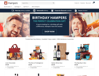 ihampers.co.uk screenshot