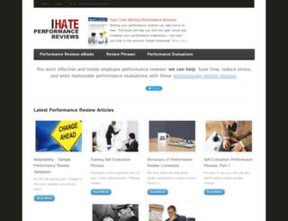 ihateperformancereviews.com screenshot