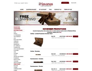ihavanas.com screenshot