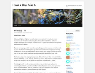 ihaveablogreadit.wordpress.com screenshot