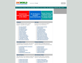 ihcworld.com screenshot