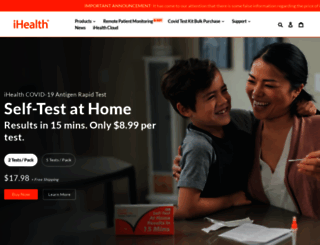 ihealthlabs.com screenshot