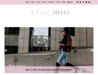iheartheels.com screenshot
