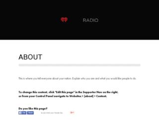iheartradio.nationbuilder.com screenshot